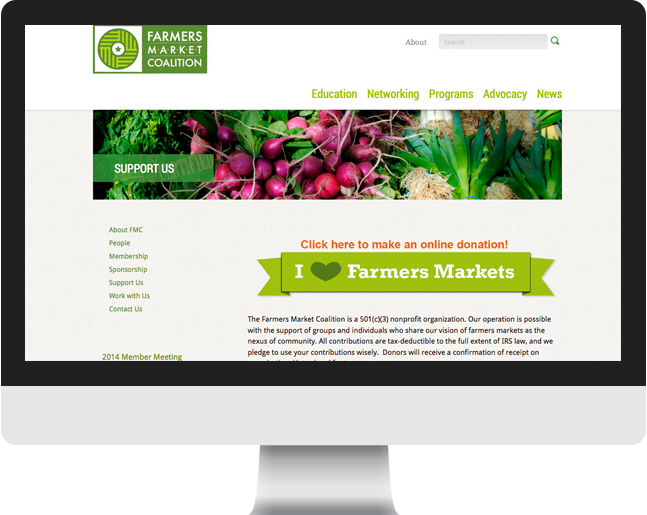 Farmers Market Coalition donate