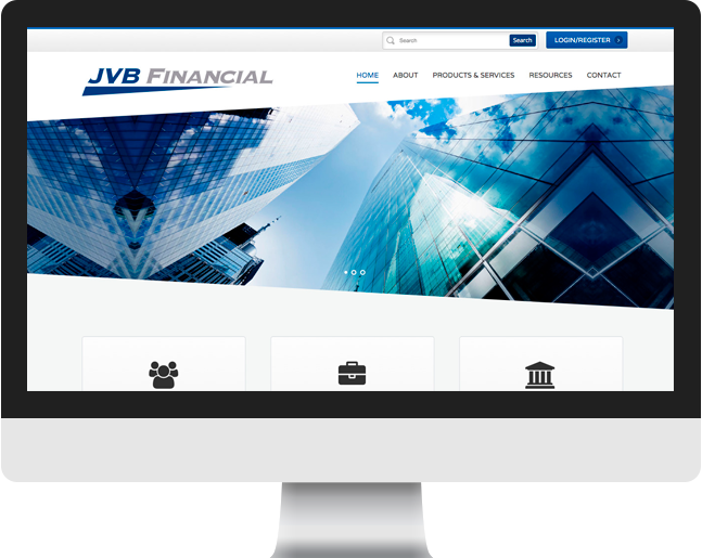JVB Financial home page