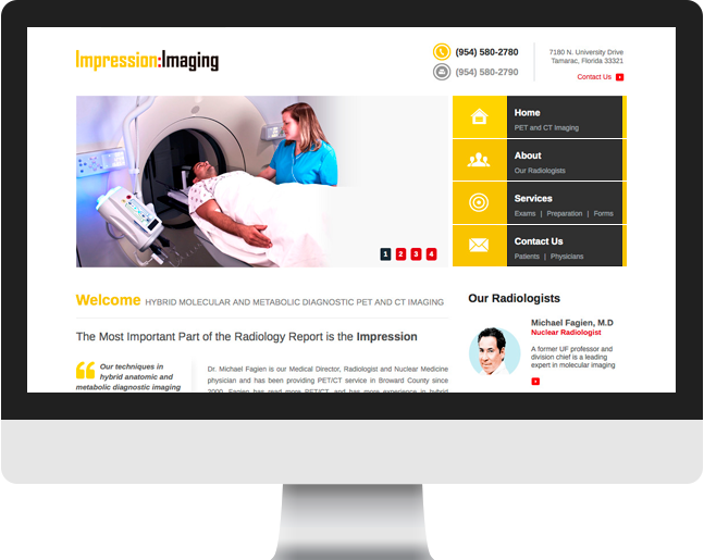 Impression Imaging home page